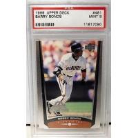 Barry Bonds Giants 1999 Upper Deck All Star Game Baseball Card #481 PSA 9 Mint