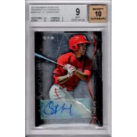 J.P. Crawford Phillies 2014 Bowman Sterling Prospect Autographs BGS 9.5 10 Auto