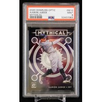 Aaron Judge Yankees 2020 Panini Donruss Optic Mythical Card #M14 PSA 9 Mint