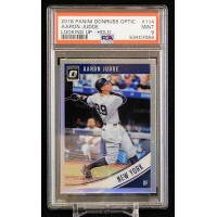 Aaron Judge Yankees 2018 Panini Donruss Optic Looking Up Card #114 PSA 9 Mint