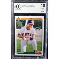 Manny Ramirez Cleveland Indians 1992 Upper Deck Card #63 Beckett BCCG 10 Mint