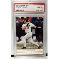 Cal Ripken Jr 2002 Upper deck #494 Card Baltimore Orioles PSA 10 Gem Mint Rare