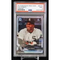Luis Robert Chicago White Sox 2018 Bowman Chrome Mega Box Card #BCP21 PSA 9 Mint