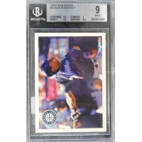 Alex Rodriguez Seattle Mariners 1994 Fleer Update RC Card #U86 Beckett 9 Mint