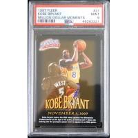 Kobe Bryant Los Angeles Lakers 1997 Fleer Million Dollar Moments Card #31 PSA 9