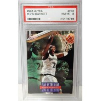 Kevin Garnett Minnesota Timberwolves 1996/97 Fleer Ultra Card #290 PSA 8 NM-MT