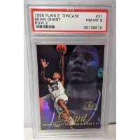 Brian Grant Sacramento Kings 1996/97 Flair Showcase Row 2 Card #37 PSA 8 NM-MT