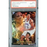 Brian Grant Sacramento Kings 1996/97 Flair Showcase Row 1 Card #37 PSA 9 Mint