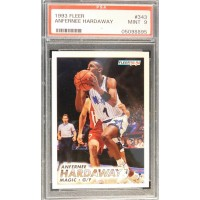 Anfernee Penny Hardaway Orlando Magic 1993/94 Fleer Rookie Card #343 PSA 9