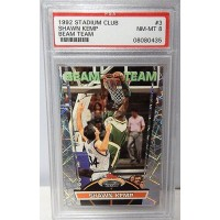 Shawn Kemp Seattle Supersonics 1992/93 Stadium Club Beam Team Card #3 PSA 8