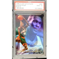 Shawn Kemp Seattle Supersonics 1996/97 Flair Showcase Row 2 Card #30 PSA 9