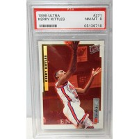Kerry Kittles New Jersry Nets 1996/97 Fleer Ultra Rookie Card #271 PSA 8 NM-MT