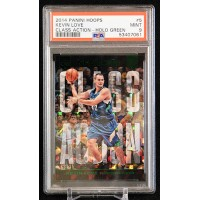 Kevin Love Cavaliers 2014 Panini Hoops Class Action Holo Green Card #5 PSA 9 /25