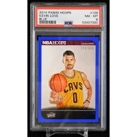 Kevin Love Cleveland Cavaliers 2014 Panini Hoops Blue Card #108 PSA 8 NM-MT /349