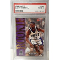 Glenn Robinson Milwaukee Bucks 1994/95 NBA Hoops Rookie Card #349 PSA 9 MINT