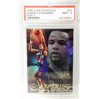 Damon Stoudamire Toronto Raptors 1996/97 Flair Showcase Row 2 Card #20 PSA 9