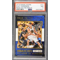 Klay Thompson Golden State Warriors 2015 Panini Hoops Card #10 PSA 7