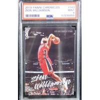 Zion Williamson 2019-20 Panini Chronicles Luminance Rookie Card #143 PSA 9 Mint