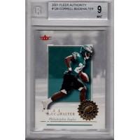 Correll Buckhalter Philadelphia Eagles 2001 Fleer Authority #128 Beckett 9 Mint