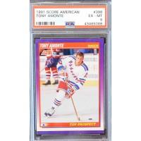 Tony Amonte New York Rangers 1991-92 Score American NHL Card #398 PSA 6 EX-MT