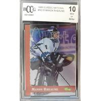 Manon Rheaume 1995 Classic National Ice Hockey Card #NC15 Beckett BCCG 10 Mint
