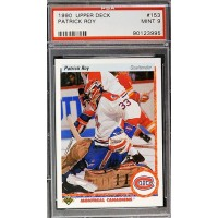Patrick Roy Montreal Canadiens 1990/91 Upper Deck Card #153 PSA Graded 9 Mint