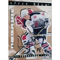 Dave Andreychuk Toronto Maple Leafs Signed 1994-95 Upper Deck Be A Player Card #52