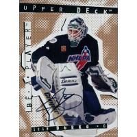 Sean Burke Signed 1995 Upper Deck Be A Player Hockey Card #53