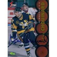 Marc Chouinard Signed 1995 Classic 5 Sport Card