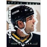 John Cullen Signed 1994-95 Upper Deck Be A Player Hockey Card #105