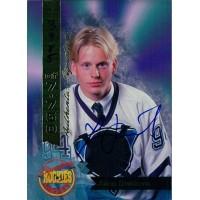 Johan Davidsson Signed 1994 Signature Rookies Card /7750