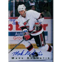 Mark DeSantis Signed 1994 Classic 4 Sport Card /3000