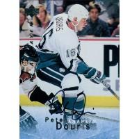 Peter Douris Anaheim Ducks Signed 1995-96 Upper Deck Be A Player Card #S25