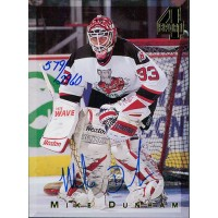 Mike Dunham Signed 1994 Classic 4 Sport Hockey Card /2960
