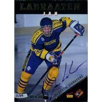 Jan Labraaten Signed 1995 Signature Rookies Draft Day Card #23 /4500