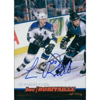 Luc Robitaille Los Angeles Kings Signed 1999 Pacific Trading Card JSA Authentic