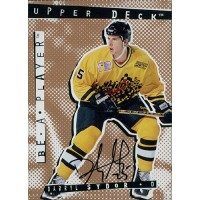 Darryl Sydor Los Angeles Kings Signed 1994-95 Upper Deck Be A Player Card #26