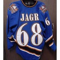 Jaromir Jagr Signed Washington Capitals CCM Jersey Size 56 JSA Authenticated