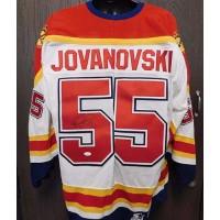 Ed Jovanovski Signed Florida Panthers Starter Jersey Size XL JSA Authenticated