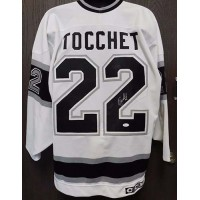 Rick Tocchet Signed Los Angeles Kings CCM Jersey Size 52 JSA Authenticated