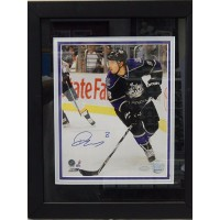 Drew Doughty Los Angeles Kings Signed 8x10 Framed Photo Steiner Authenticated