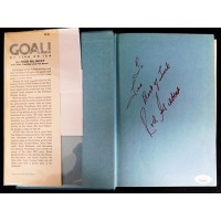 Rod Gilbert Signed Goal! My Life On Ice 1st Edition Hardcover Book JSA Authentic