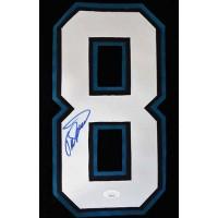 Teemu Selanne Anaheim Ducks Signed Jersey Number JSA Authenticated