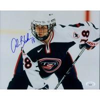 Alena Blahoski Team USA Hockey Signed 8x10 Glossy Photo JSA Authenticated