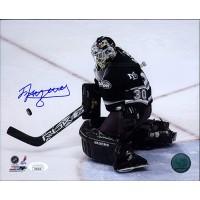 Ilya Bryzgalov Anaheim Mighty Ducks Signed 8x10 Glossy Photo JSA Authenticated