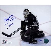 Ilya Bryzgalov Anaheim Mighty Ducks Signed Limited 8x10 Photo JSA Authenticated
