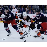 Andrew Cogliano Anaheim Ducks Signed 8x10 Matte Photo JSA Authenticated