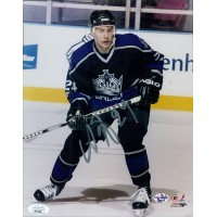 Alexander Frolov Los Angeles Kings Signed 8x10 Glossy Photo JSA Authenticated