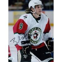 Brian Gibbons Scranton Penguins Signed 8x10 Matte Photo JSA Authenticated