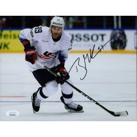 Brian Gibbons Team USA Signed 8x10 Matte Photo JSA Authenticated